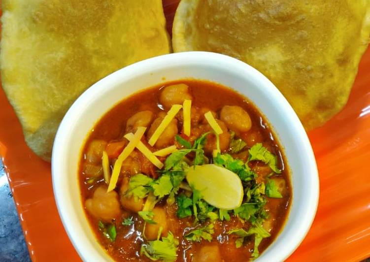 30 Minute Recipe of Spring Chole Bhature