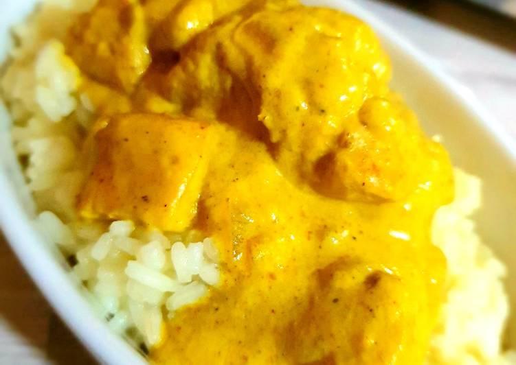 La Meilleur Recette De 🍗 Poulet au curry coco 🍗