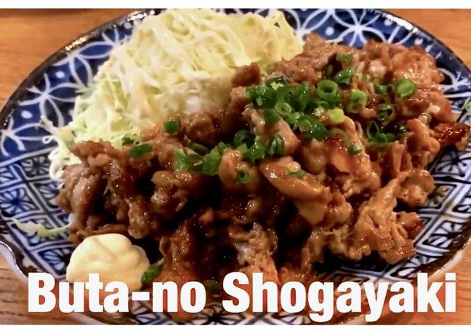 Step-by-Step Guide to Prepare Any-night-of-the-week Ginger Pork (shogayaki)