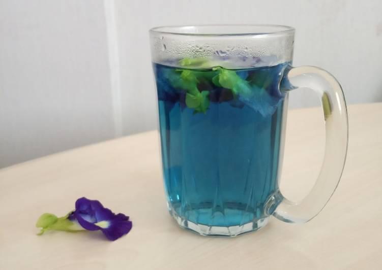 259) Teh Biru (Bunga Telang)