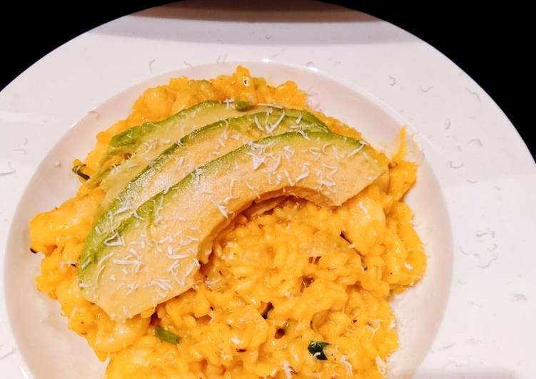 Prawn and Avocado Risotto