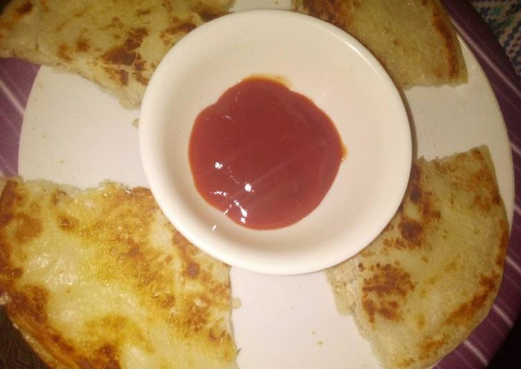 25 Minute Steps to Prepare Special Arabic paratha