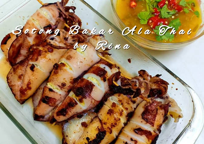 Sotong Bakar Ala Thai by Rina