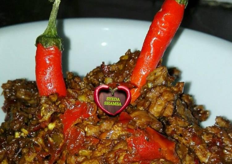 Cayenne spicy beef