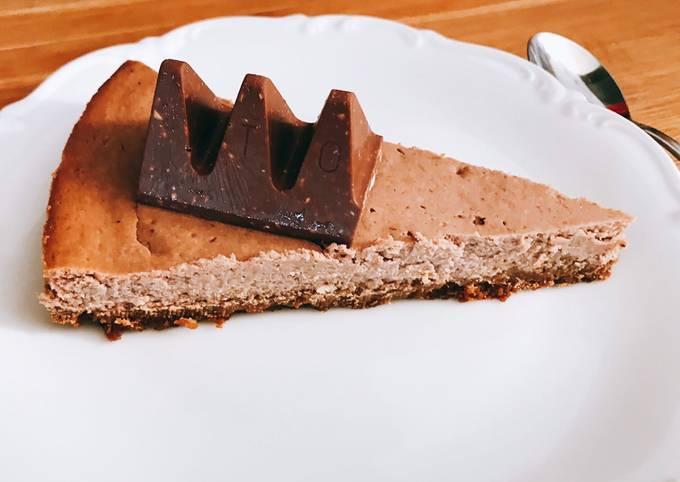 Cheesecake toblerone