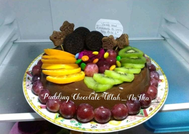 Pudding Chocolate Ultah baby Atha
