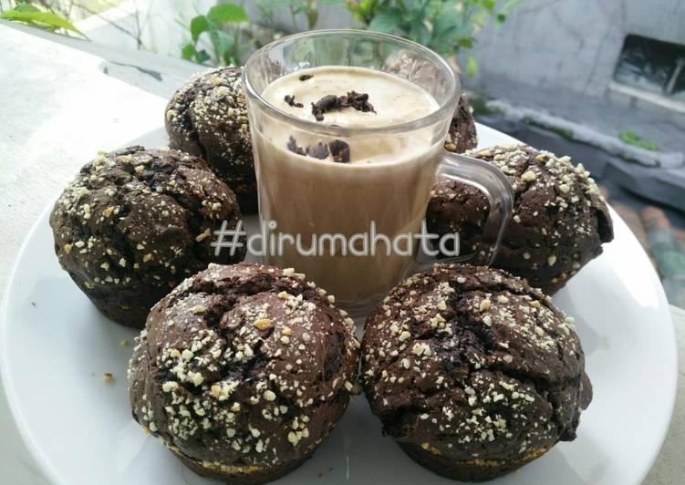 Muffin Chocolate Kacang