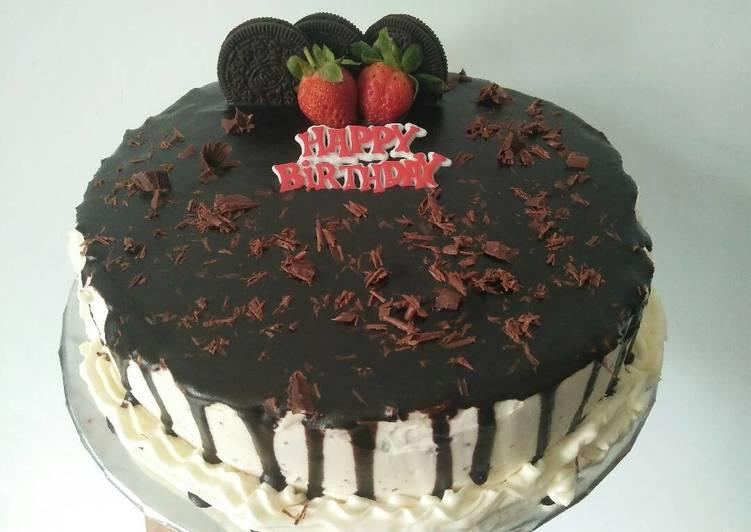 Chocolate Cake Ulang tahun - cookandrecipe.com
