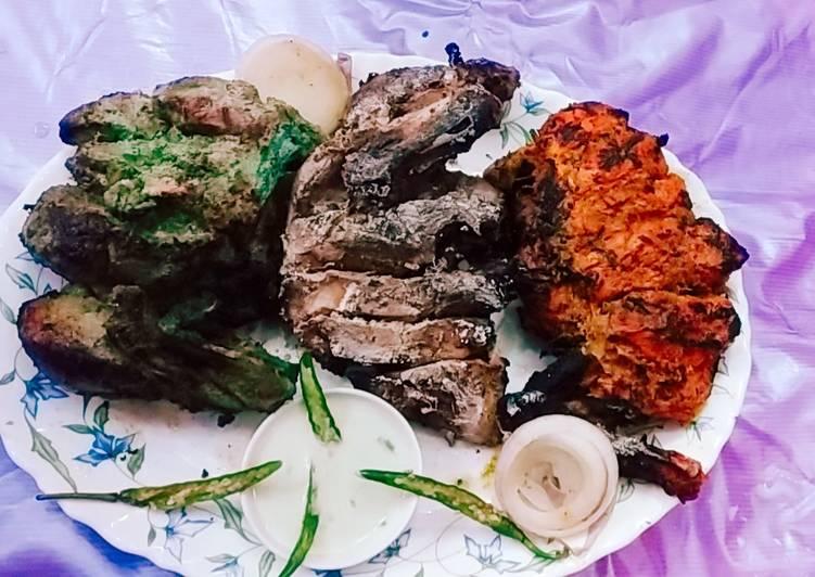 What are some Dinner Ideas Refreshing Chicken tandoori tiranga