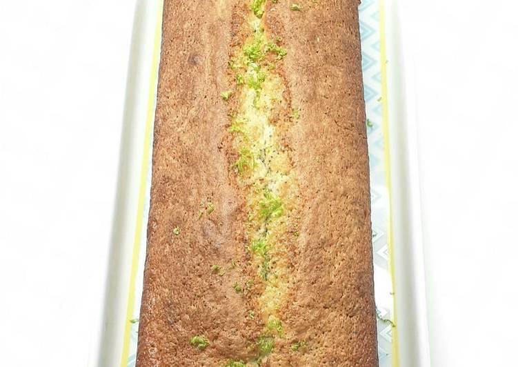 Cake citron vert et pavot