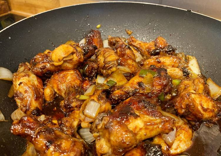 Ayam kecap Chinese style