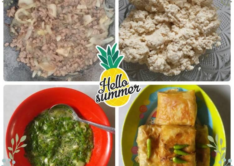 Martabak Tahu + Daging Giling