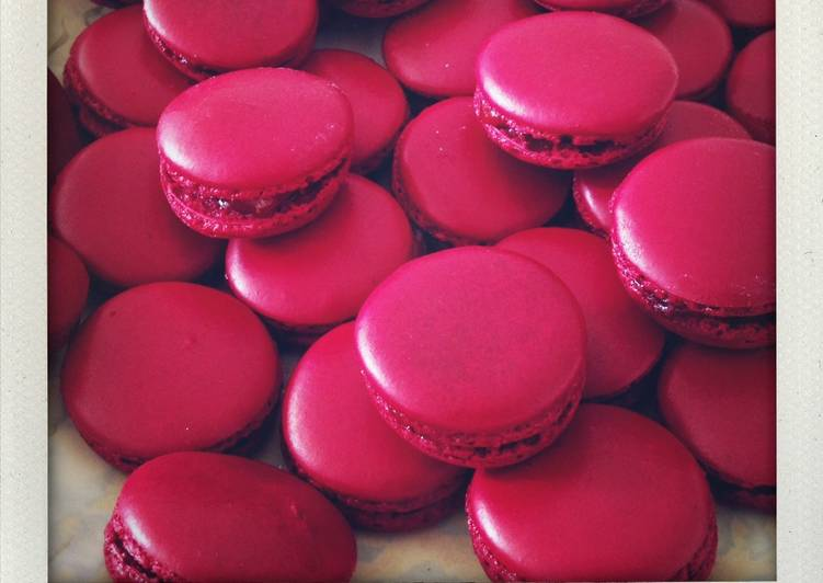 Easiest Way to Make Delicious Macarons à la fraise
