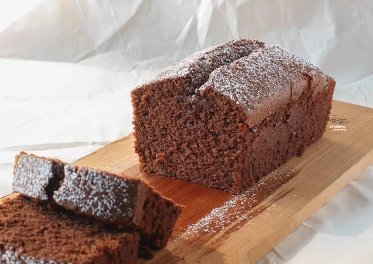 Recipe of Favorite Chocolate Pound Cake