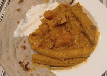 Easiest Way to Recipe Appetizing Slow cooked Fish and Sweet Potato Curry