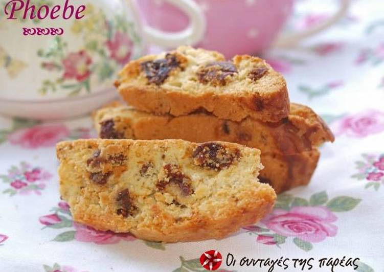 Recipe of Ultimate Biscotti with figs and anise