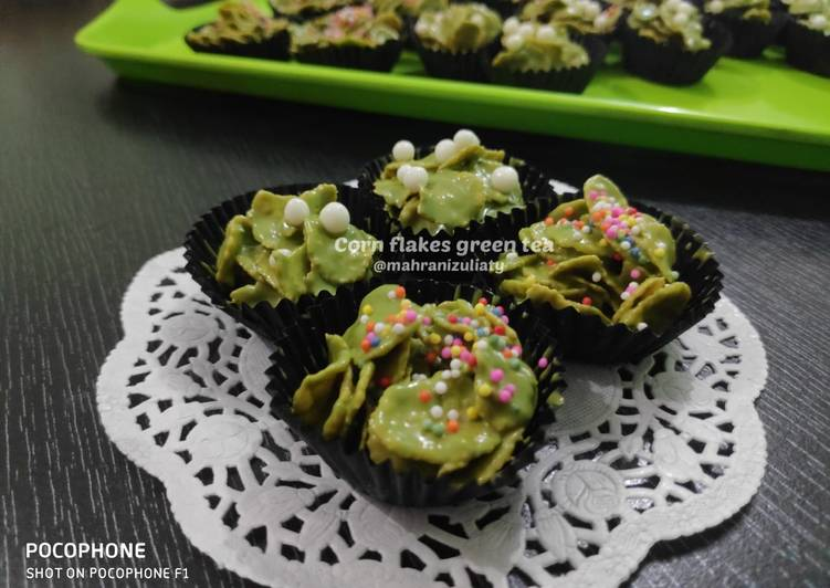 Resep Corn Flakes Green Tea Oleh Rani Cookpad