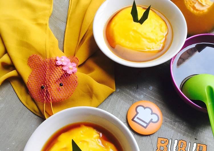 Bubur Sumsum Labu Kuning