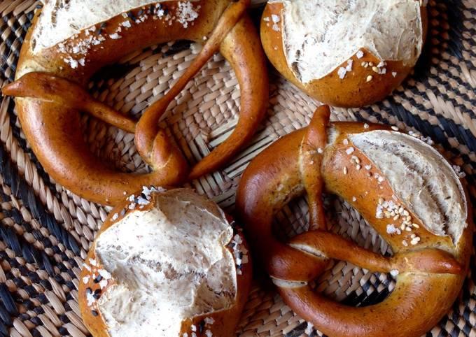Easiest Way to Make Delicious Sourdough Lye Pretzels