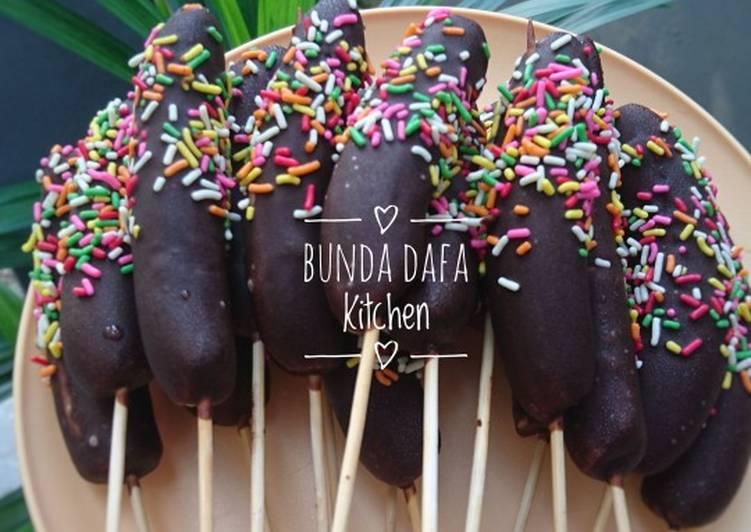 Resep Es Pisang Coklat Es Kul Kul Oleh Naina Khan Cookpad