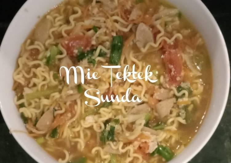 Mie Tektek Sunda