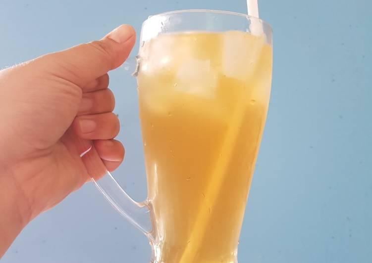 Air kelapa gula melaka - resepipouler.com