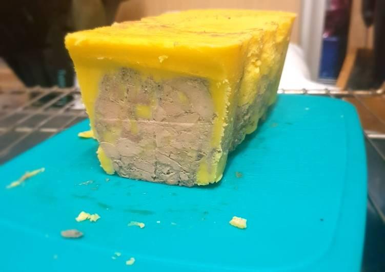 Recipes  Foie gras tupperware