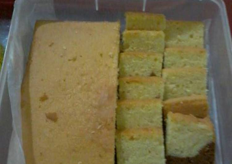 Resep White-choco cake Anti Gagal