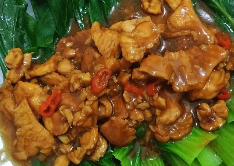Pakcoy Cah Ayam