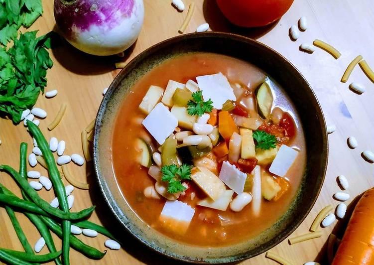 recette Soupe minestrone délicieux