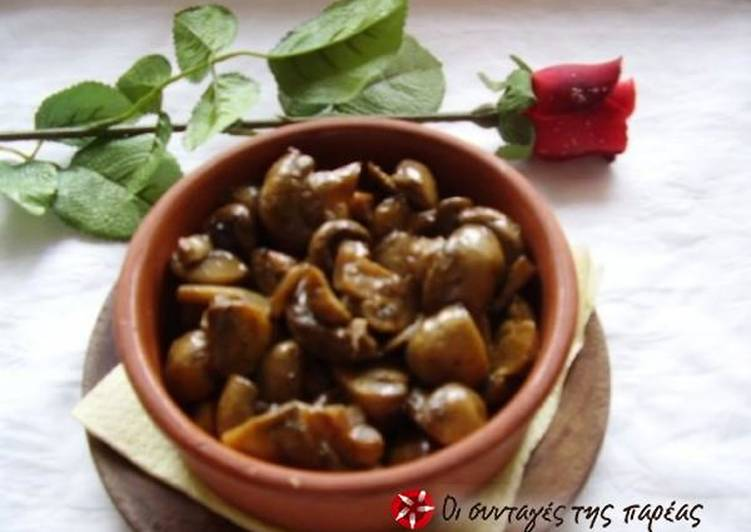 Recipe of Ultimate Mushrooms in wine
