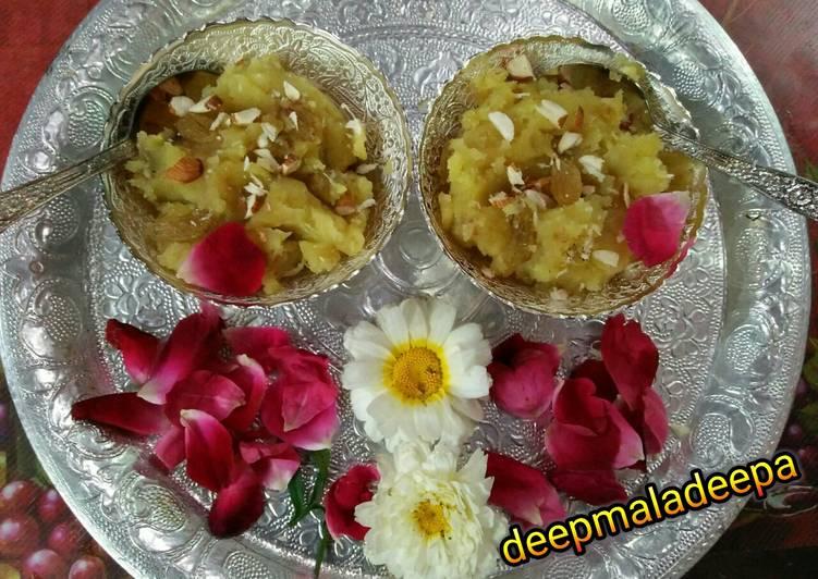 Recipe of Super Quick Homemade Sweetpotato Halwa (Varat special)