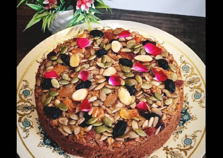 Recipe of Ultimate Oats Cake (Gluten Free and sugar free)