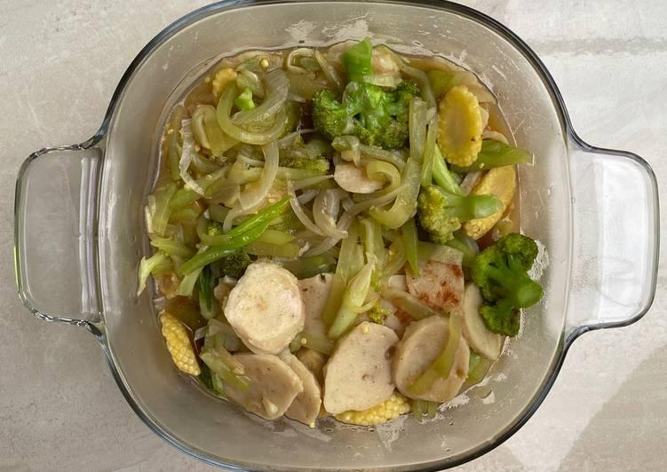 Capcay Baso Ayam