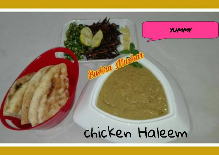 How to Prepare Top-Rated Chicken Haleem