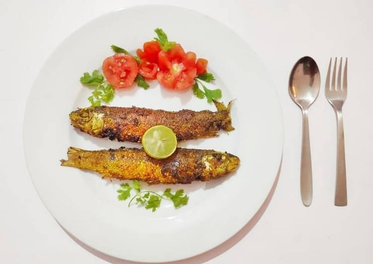 5 Minute Recipe of Cooking Masala fish fry