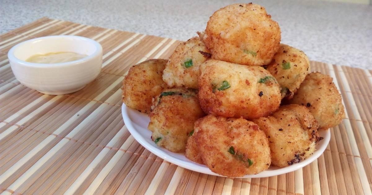 козловских также картофельно сырные шарики рецепт с фото мне кажется