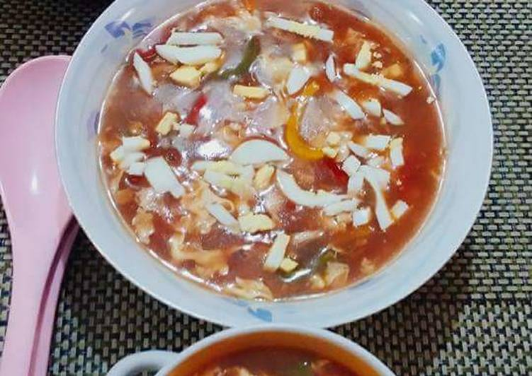 Step-by-Step Guide to Make Speedy Hot n sour soup