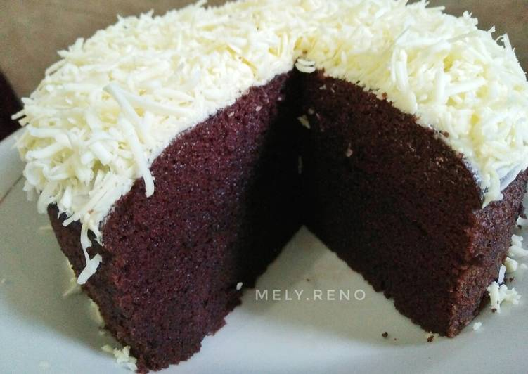 Cara Gampang Menyiapkan Cake Coklat Moist (tanpa mixer, tanpa oven) Anti Gagal