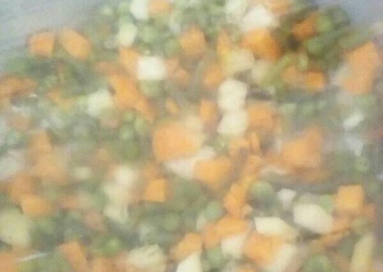 Easiest Way to Prepare Speedy Mixed vegetables