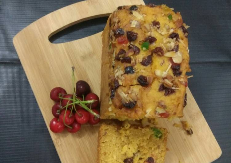 Recipe of Super Quick Homemade Mango Cake without Oven