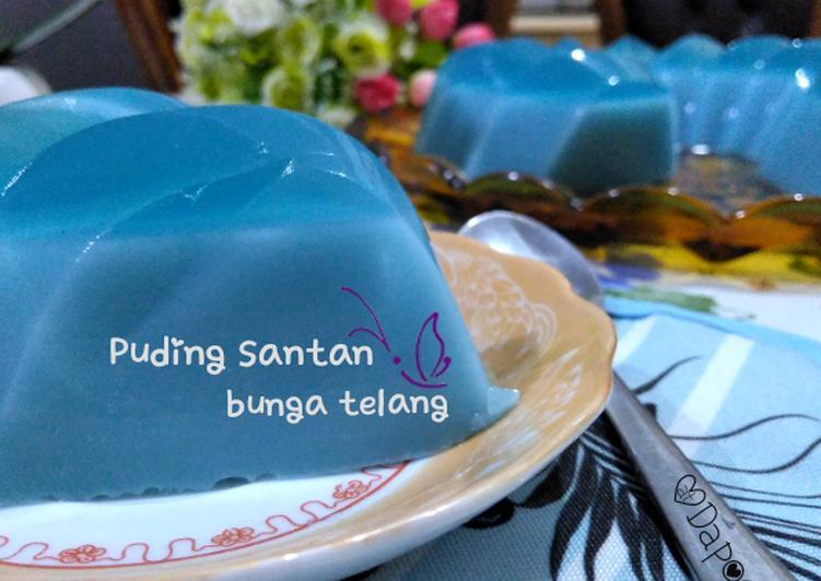 #PUDING SANTAN BUNGA TELANG