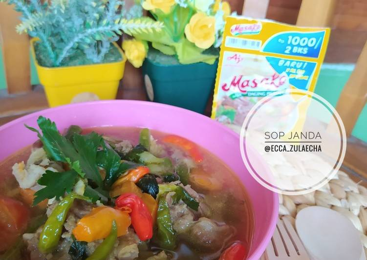Sop Janda Kambing Super Simple dan Enak