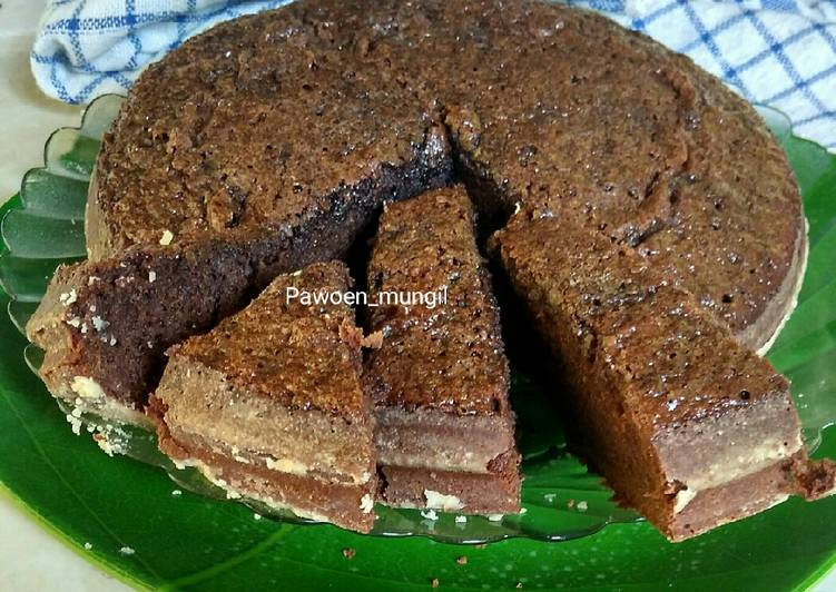 35. Brownies panggang presto