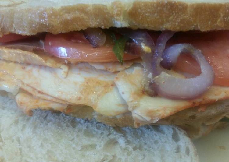 Step-by-Step Guide to Make Super Quick Homemade Sriracha Chicken Panini