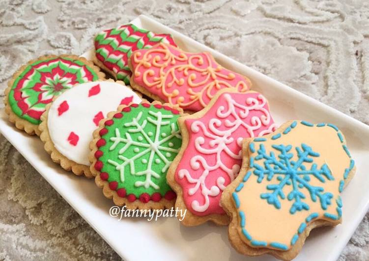 Resep Royal Icing Cookies Oleh Fannypatty Cookpad