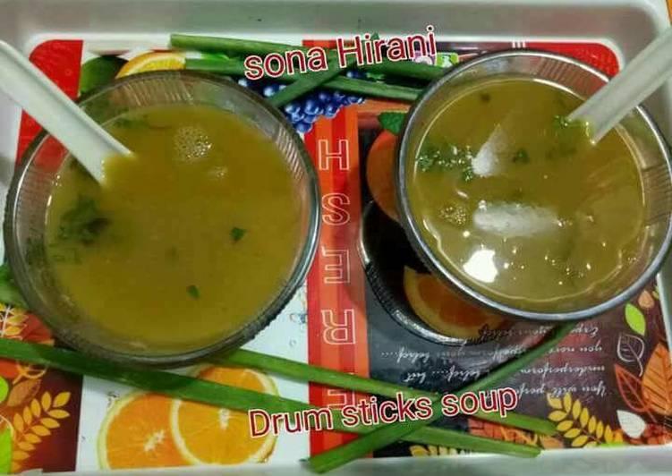 Drum stick soup