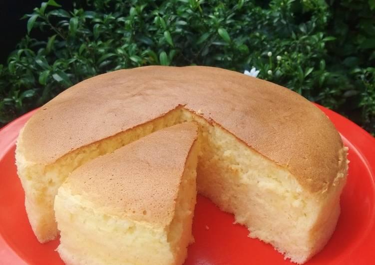 Souffle Cheese Cake (Cream cheese homemade)
