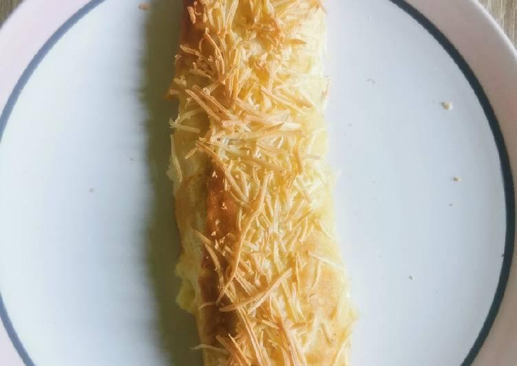 Kaastengels ala Belanda (cheese pretzel) renyah dan chewy