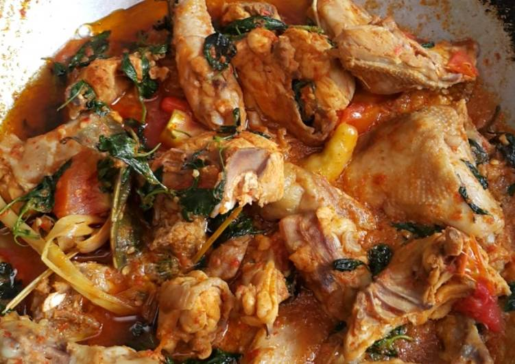 Ayam Woku Kemangi